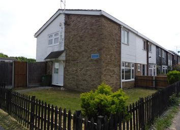 Thumbnail 3 bed end terrace house to rent in Ayletts, Basildon