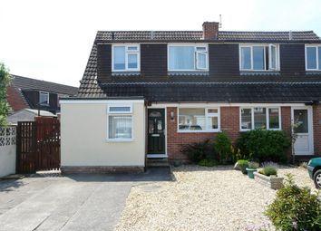 Thumbnail 4 bed semi-detached house for sale in Partridge Close, Weston-Super-Mare