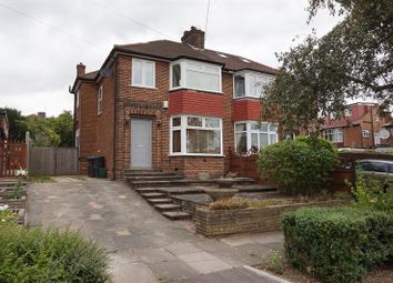 Thumbnail 3 bed semi-detached house to rent in Netherby Gardens, Oakwood, .