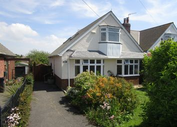 Thumbnail 4 bed bungalow for sale in Lodmoor Avenue, Weymouth
