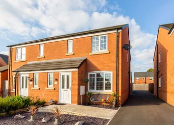 Thumbnail 3 bed semi-detached house for sale in 13 Rosemary Drive, Shavington, Crewe