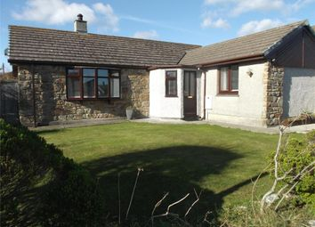 Thumbnail 3 bed detached bungalow for sale in Trelyon Close, St. Buryan, Penzance, Cornwall