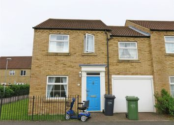 Thumbnail 3 bed end terrace house for sale in Chapman Way, Eynesbury, St Neots, Cambridgeshire