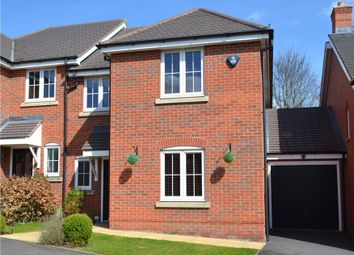Thumbnail 4 bed semi-detached house for sale in Manders Croft, Southam, Long Itchington