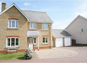 Thumbnail 4 bed detached house for sale in Wells Way, Debenham