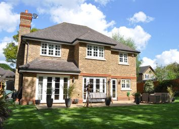 Thumbnail 5 bed detached house for sale in Hazelway Close, Fetcham, Leatherhead