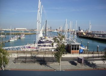 Thumbnail 2 bed flat to rent in The Chandlers, Royal Clarence Marina, Gosport