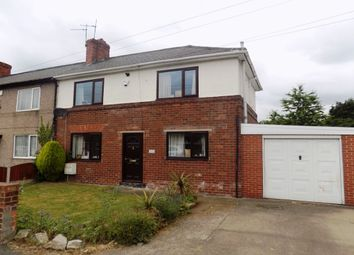 Thumbnail 2 bed terraced house for sale in Skellow Road, Skellow, Doncaster