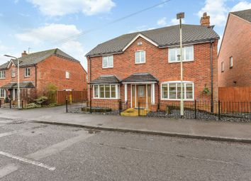 Thumbnail 5 bed detached house to rent in Church Lane, Shinfield, Reading