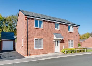 Thumbnail 4 bed detached house for sale in Hadlow Close, Greenlands, Redditch