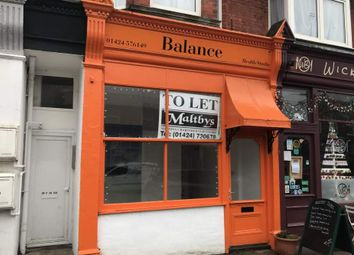 Thumbnail Retail premises to let in 7 Wickham Avenue, Bexhill On Sea