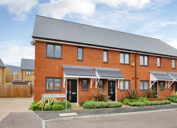 Thumbnail 2 bed end terrace house for sale in Thackeray Drive, Northfleet, Gravesend, Kent
