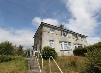 Thumbnail 1 bed flat to rent in Dryburgh Crescent, Ham, Plymouth