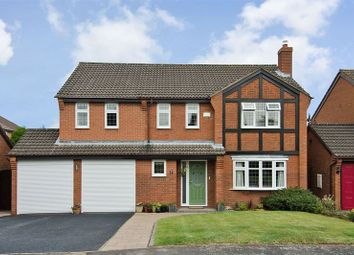 Thumbnail 5 bed detached house for sale in Keepers Close, Boley Park, Lichfield