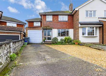 Thumbnail 3 bed semi-detached house for sale in Staddlestone Close, Tilehurst, Reading, Berkshire