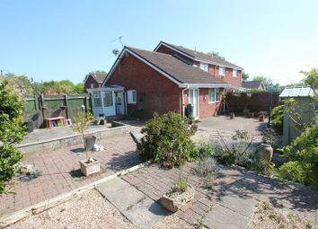 Thumbnail 2 bed semi-detached bungalow for sale in Meadowcroft, Rhoose, Barry