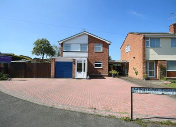 Thumbnail 4 bed detached house for sale in Windsor Drive, Market Drayton