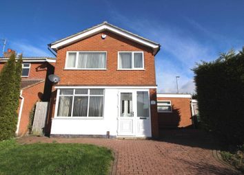 Thumbnail 3 bed detached house for sale in Tamar Road, Oadby, Leicester