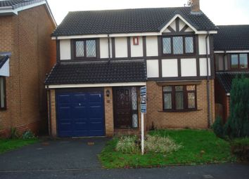 Thumbnail 4 bedroom detached house to rent in Greenfinch Close, Apley, Telford