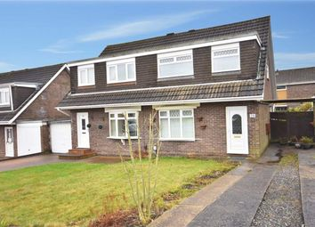Thumbnail 3 bed semi-detached house for sale in Rhodfa'r Wennol, Cwmrhydyceirw, Swansea
