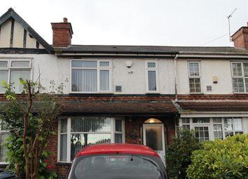 Thumbnail 3 bed terraced house for sale in Washwood Heath Road, Washwood Heath, Birmingham