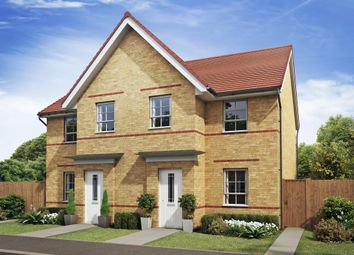 "Thumbnail 3 bed end terrace house for sale in ""Palmerston"" at Croft Drive, Moreton, Wirral"