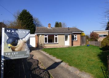 Thumbnail 2 bed detached bungalow to rent in Staines Way, Louth