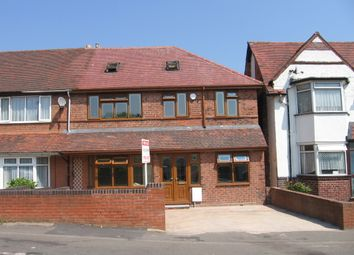 Thumbnail 6 bed semi-detached house to rent in Churchhill Road, Perry Barr, Birmingham