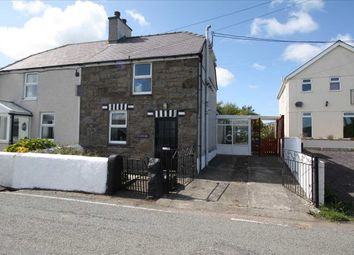 Thumbnail 2 bed semi-detached house for sale in Carmel, Llanerchymedd