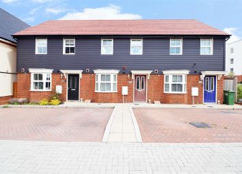 Thumbnail 3 bed terraced house for sale in Lett Lane, Ebbsfleet Valley, Swanscombe
