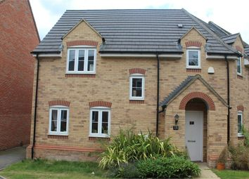 Thumbnail 4 bed semi-detached house for sale in Temple Crescent, Oxley Park, Milton Keynes