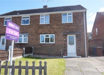 Thumbnail 3 bed semi-detached house for sale in Arthur Street, Cannock