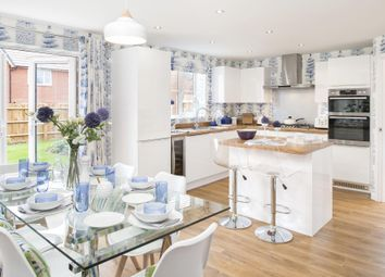 "Thumbnail 4 bedroom detached house for sale in ""Irving"" at Yallands Hill, Monkton Heathfield, Taunton"