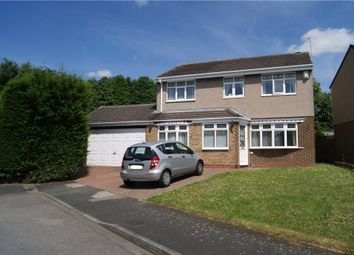Thumbnail 4 bedroom detached house to rent in Edlingham Road, Newton Hall, Durham