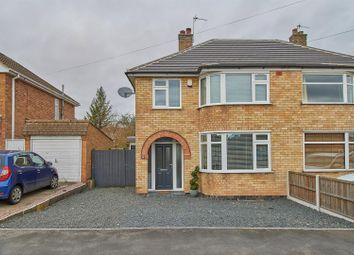 3 bed semi-detached house for sale in Oakcroft Avenue, Kirby Muxloe, Leicester LE9