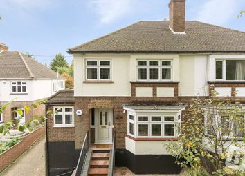 Thumbnail 3 bed semi-detached house for sale in Hacton Lane, Upminster