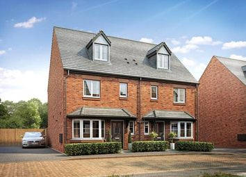 Thumbnail 3 bed semi-detached house for sale in Drakelow, Burton-On-Trent, Derbyshire