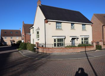 Thumbnail 4 bed detached house for sale in Butler Drive, Bedford, Bedfordshire