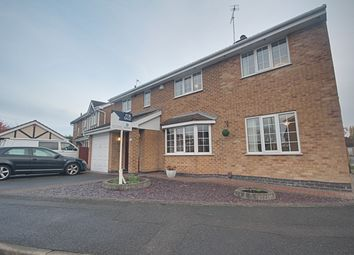 Thumbnail 5 bed detached house for sale in Rothbury Avenue, Trowell, Nottingham