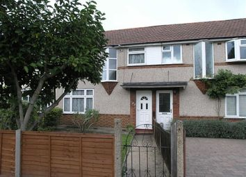Thumbnail 3 bed terraced house to rent in Warren Road, Whitton, Twickenham