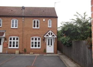 Thumbnail 2 bed end terrace house to rent in Garrington Road, Bromsgrove, Worcestershire
