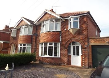 Thumbnail 3 bedroom property to rent in Cardale Road, Pleasley, Mansfield