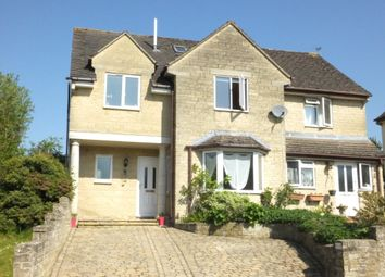 Thumbnail 4 bed semi-detached house for sale in Longtree Close, Tetbury