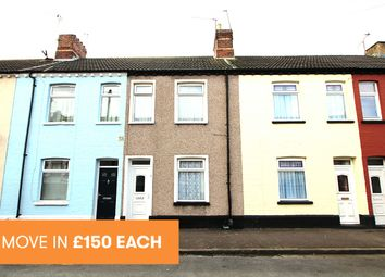 Thumbnail 2 bed terraced house to rent in Devon St, Grangetown, Cardiff