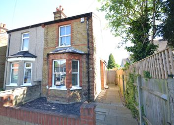 Thumbnail 2 bed semi-detached house for sale in Upper Court Road, Epsom
