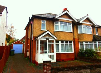 Thumbnail 3 bed semi-detached house for sale in Wilton Crescent, Upper Shirley, Southampton, Hampshire