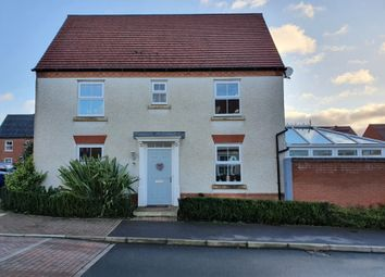 Thumbnail 3 bed detached house for sale in Glamorgan Way, Church Gresley