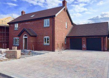 Thumbnail 4 bed detached house for sale in Rodington Fields, Rodington, Shrewsbury