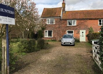 Thumbnail 3 bed semi-detached house for sale in Hempnall Road, Woodton, Bungay