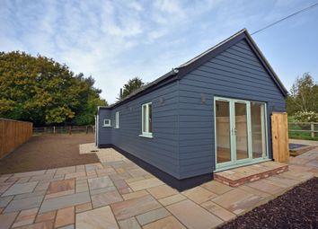 Thumbnail 2 bed detached bungalow for sale in Jackson Road, Newbourne, Woodbridge